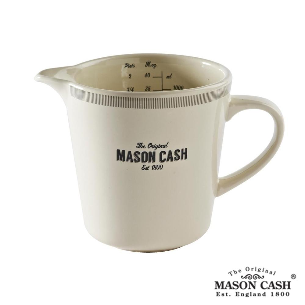 MASON BAKER LANE系列陶瓷刻度量杯1L(白)
