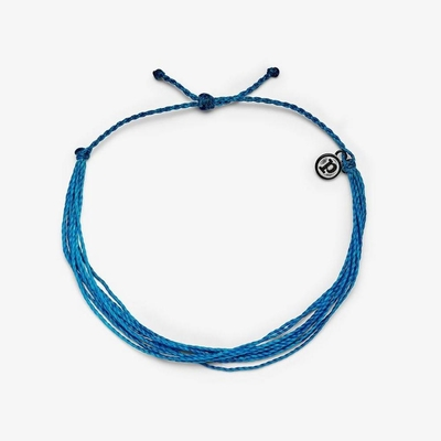 Pura Vida 美國手工 NEON BLUE ANKLET 霓虹藍色 基本繽紛款可調式腳鍊