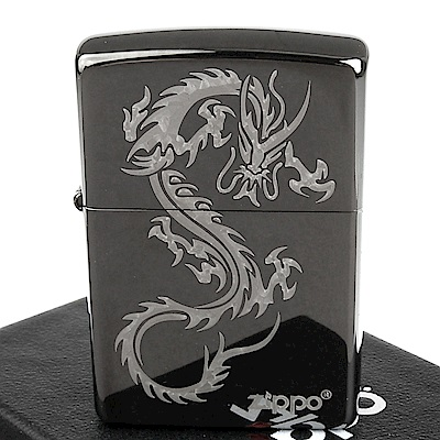 ZIPPO 美系~Chinese Dragon-中國龍圖案設計打火機