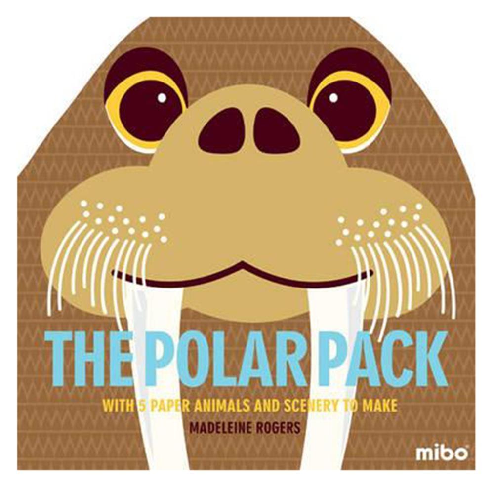 Mibo The Polar Pack 趣味勞作童書-北極世界