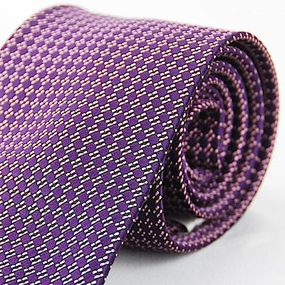Alpaca 紫色圓點領帶fast