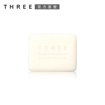 (即期品)THREE 舒活沐浴皂 120g●效期至2022.02