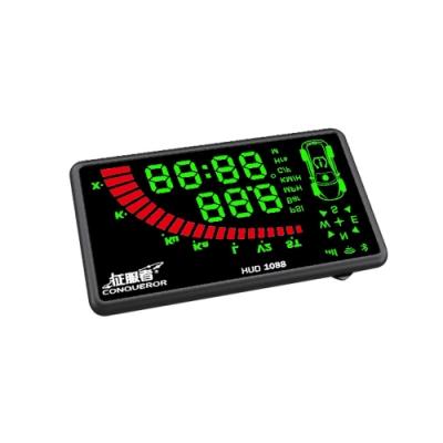 征服者 HUD-1088 雙色版 抬頭顯示安全警示器-快