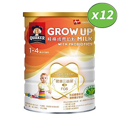 桂格 三益菌成長奶粉(1500g*12罐)