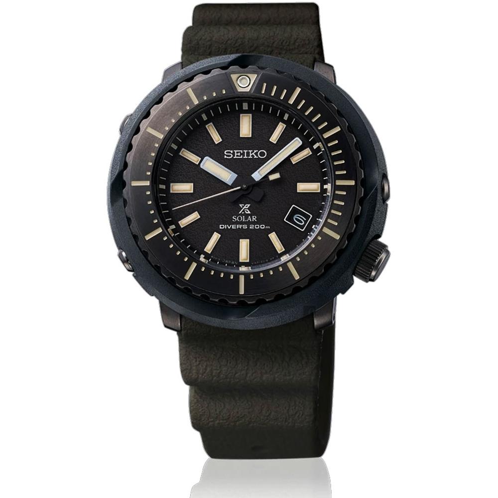 SEIKO 精工 PROSPEX  小鮪魚太陽能潛水錶(SNE543P1)