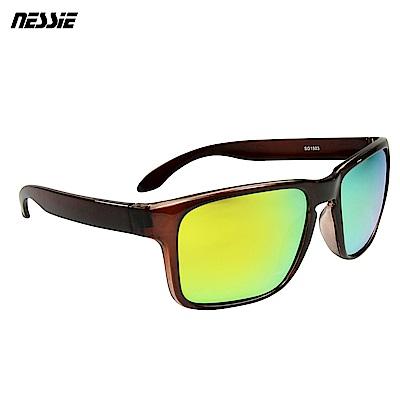 【Nessie尼斯眼鏡】偏光太陽眼鏡-經典紅棕