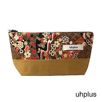uhplus Q-plus萬用收納包- 皐月京都嵐山(練樺)