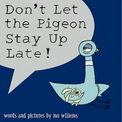 Don t Let The Pigeon Stay Up Late! 平裝繪本