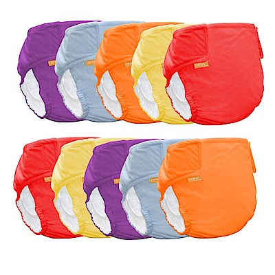 COTEX可透舒-環保布尿布  防水透氣尿布兜 10件特惠組
