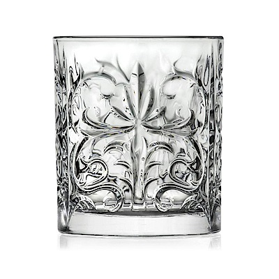 義大利RCR圖騰無鉛水晶威士忌酒杯300ml-6入