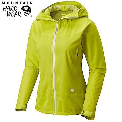 Mountain Hardwear 女款-Dry Q 輕量防水外套-黃色