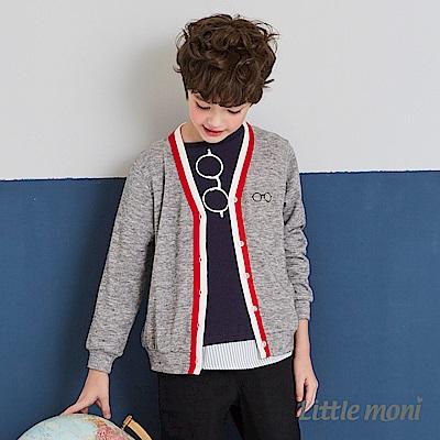 Little moni 學院風針織外套(2色可選)