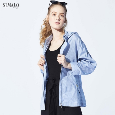 【ST.MALO】夏沁冰肌天絲空氣涼感防曬外套(2色)