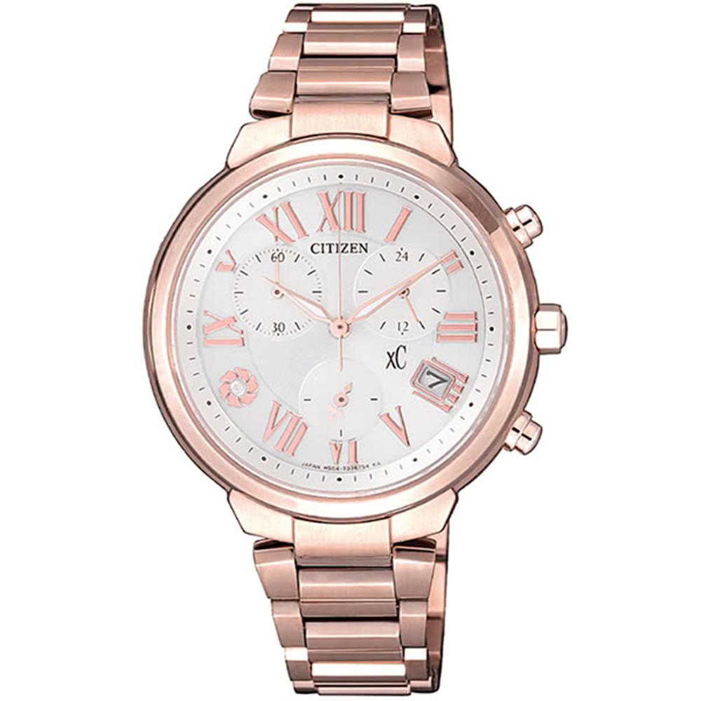 CITIZEN 星辰XC Pink 櫻花甜美系粉紅腕錶(FB1334-62A) @ Y!購物