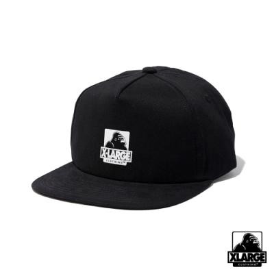 XLARGE OG 5PANEL CAP-五分割帽-黑