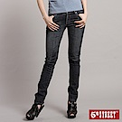 5th STREET 極緻美腿伸縮合身直筒牛仔褲-女-酵洗藍