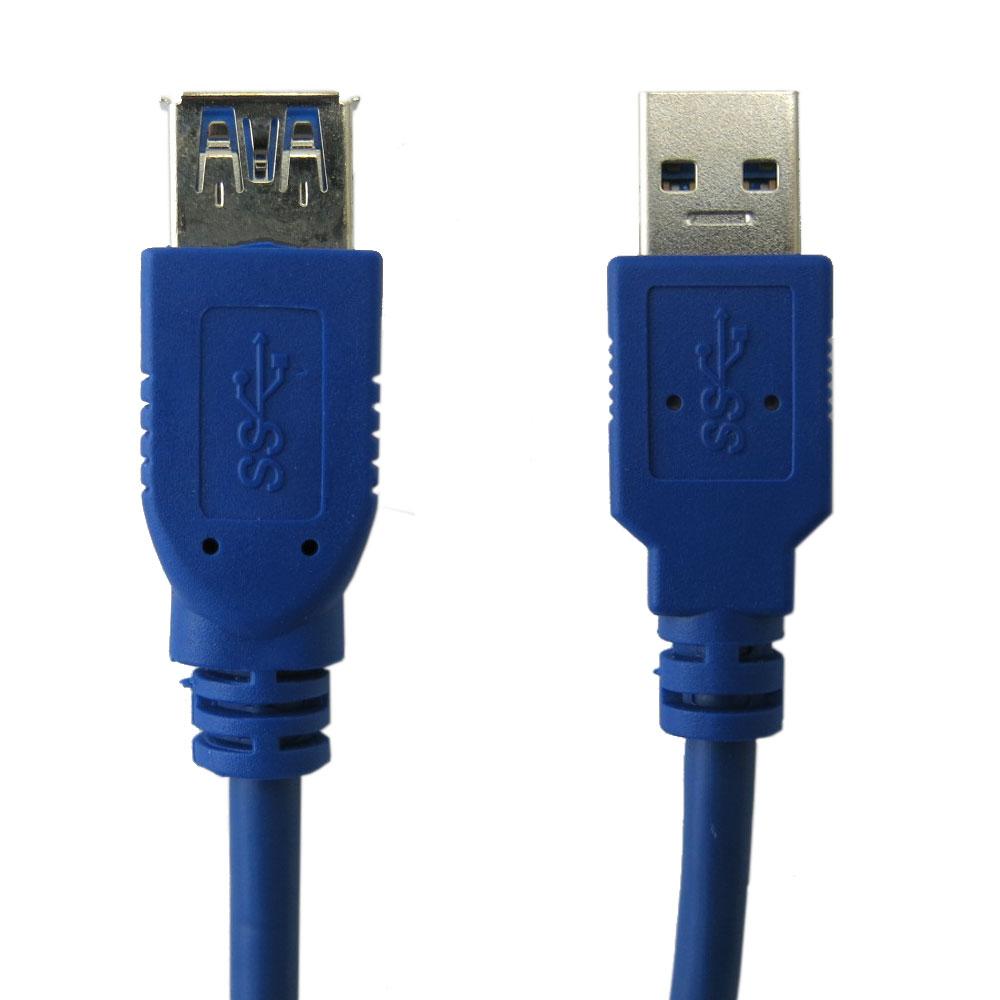 Bravo-u USB 3.0 超光速延長線/A公對A母(0.8米)