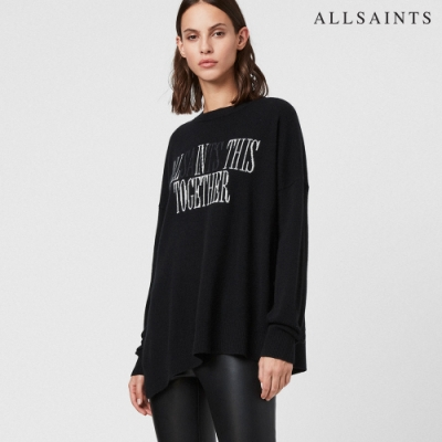 ALLSAINTS TOGETHER LOGO針織上衣