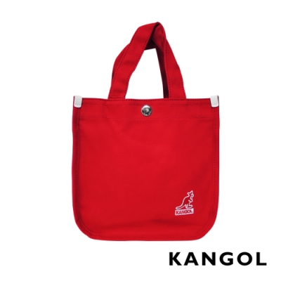 KANGOL 韓版極簡玩色-MINI帆布斜背小方包-多色任選 AKG
