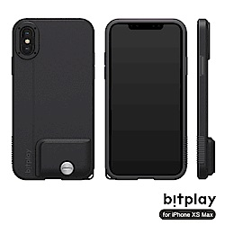 bitplay SNAP! iPhone XS Max專用 全包覆輕量防摔相機殼 質感黑