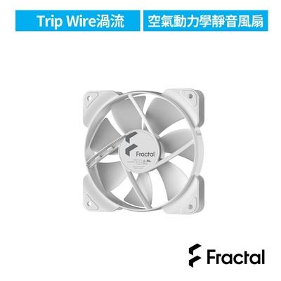 【Fractal Design】Aspect 12cm 散熱風扇-白