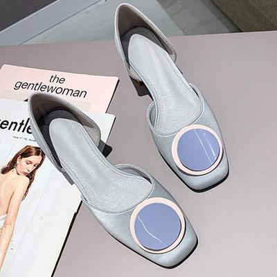 KEITH-WILL時尚鞋館-(現貨)獨家款百搭造型配色方頭鞋(共1色)