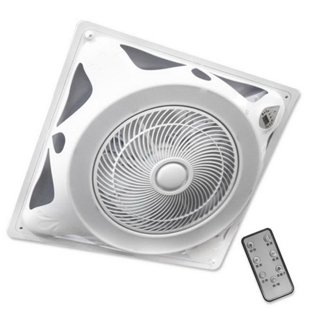 勳風14吋 DC變頻 LED燈罩 頂上循環扇(HF-B7996DC)2合1