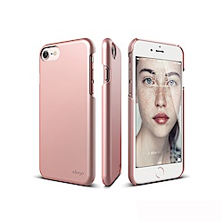 elago iPhone 8/7 經典超薄手機保護殼 - 玫瑰金