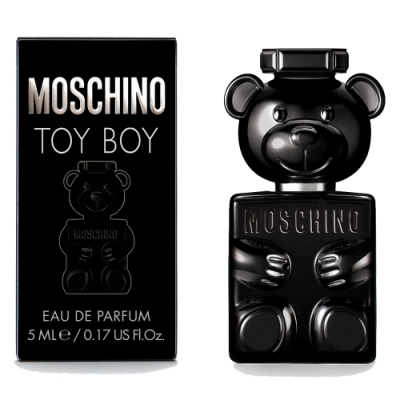 *MOSCHINO TOY BOY 迷你淡香精 5ml