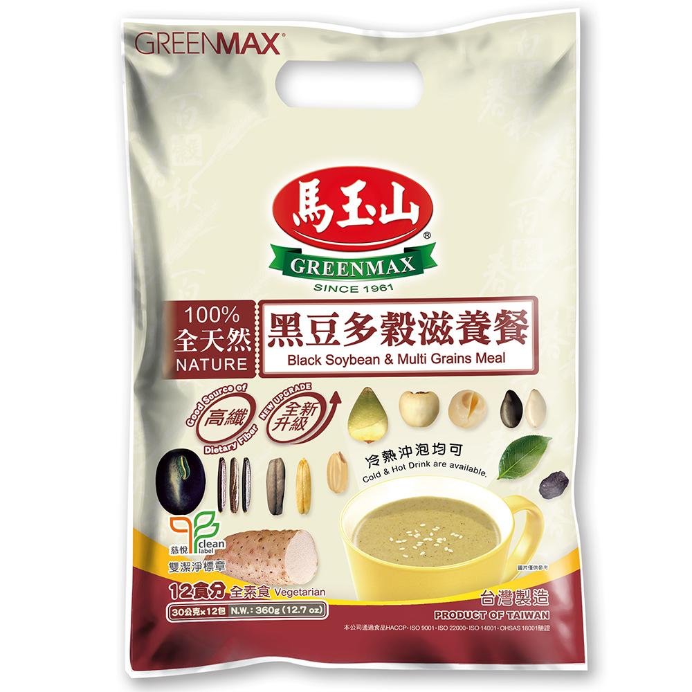 馬玉山 黑豆多穀滋養餐(30gx12入)