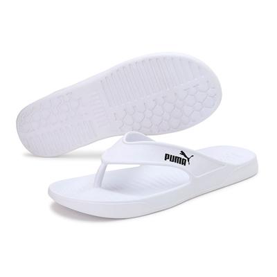PUMA Aqua Flip  夾角拖 男女拖鞋-白-37509802