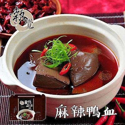執覺 麻辣鴨血湯底(1600g/盒)