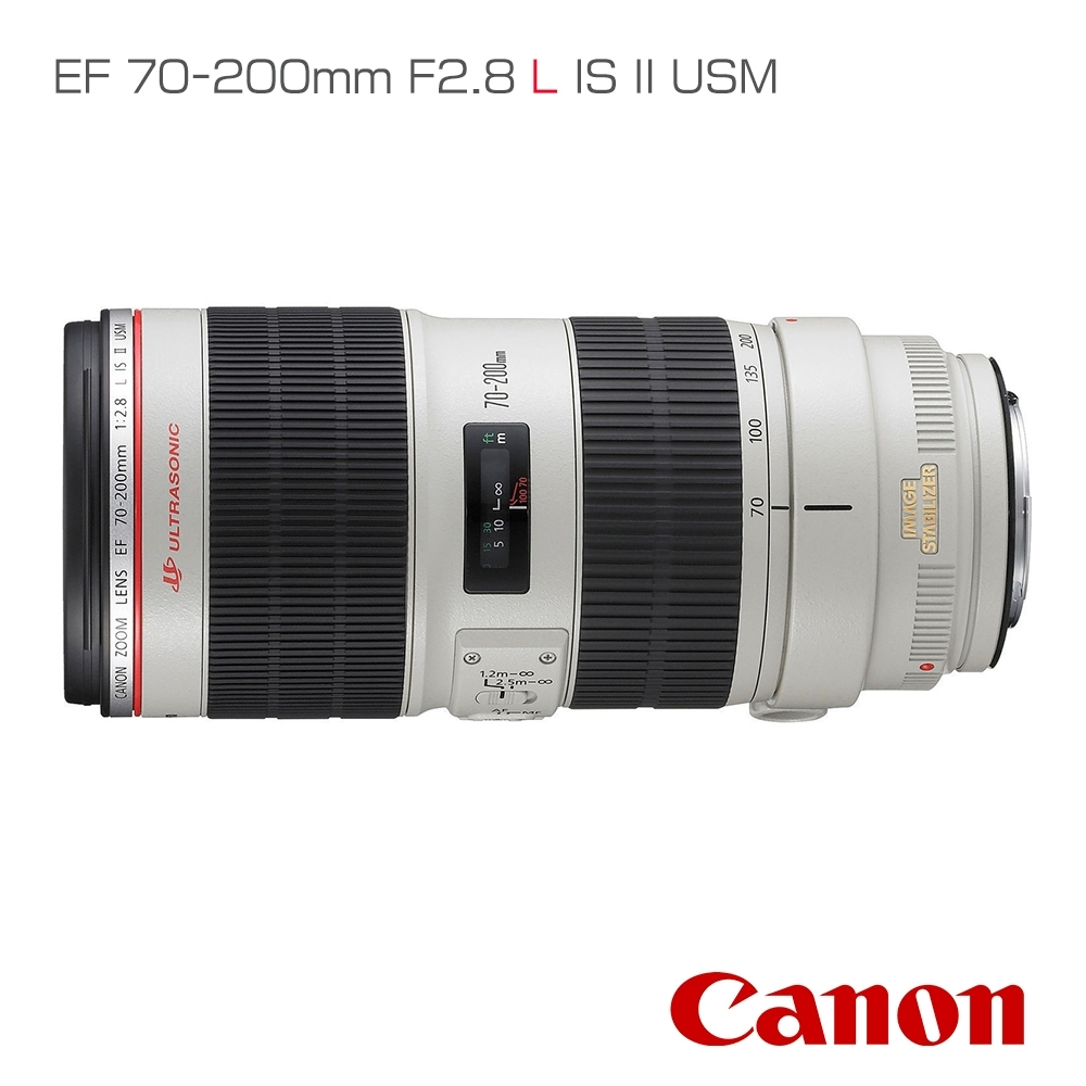 Canon EF 70-200mm F2.8 L IS II USM (公司貨)