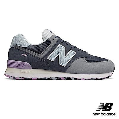 New Balance復古鞋ML574UJA中性灰藍