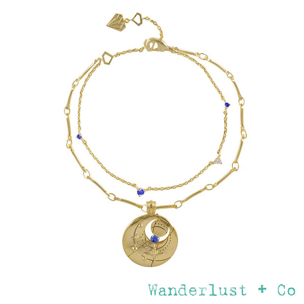 Wanderlust+Co 生日石系列 BIRTHSTONE手鍊 九月September