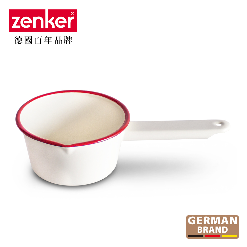 德國Zenker 手工琺瑯牛奶15cm