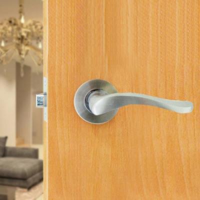 守門員系列 K205-S 水平把手鎖(不鏽鋼銀 60 mm)下座水平鎖 房間鎖 管型板手鎖