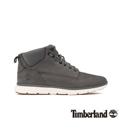 Timberland 男款中灰色磨砂革運動短靴|A22C7