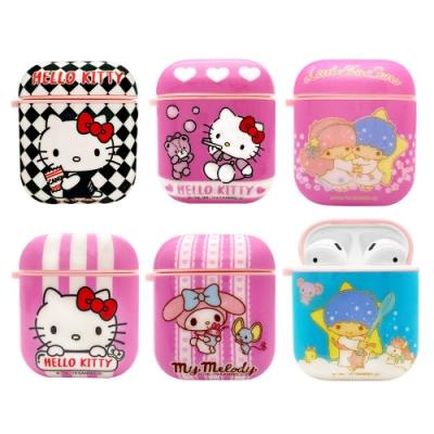 【正版授權】Sanrio三麗鷗 Hello Kitty/美樂蒂/雙子星 AirPods 專用 矽膠保護套