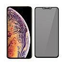 【SHOWHAN】iPhone Xs Max 3D軟邊防窺9H鋼化玻璃保護貼