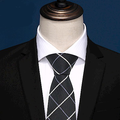拉福   格灣8CM寬版領帶手打領帶