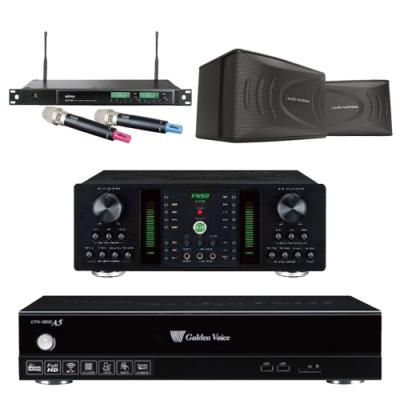 金嗓A5+FNSD A-250+AT-KSP90+ACT-589(伴唱機 4TB+卡拉OK套組)