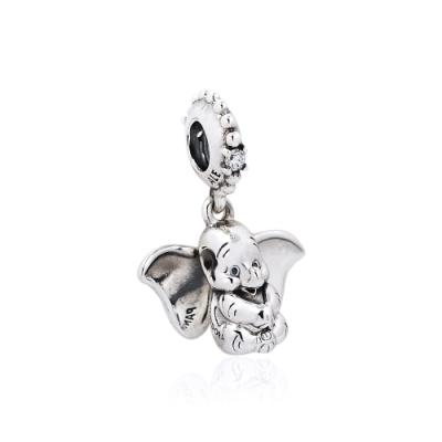 Pandora 潘朵拉 迪士尼系列 魅力小飛象 垂墜純銀墜飾