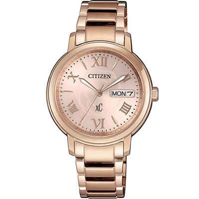 CITIZEN xC 魅力綻放光動能腕錶(EW2422-63W)32mm