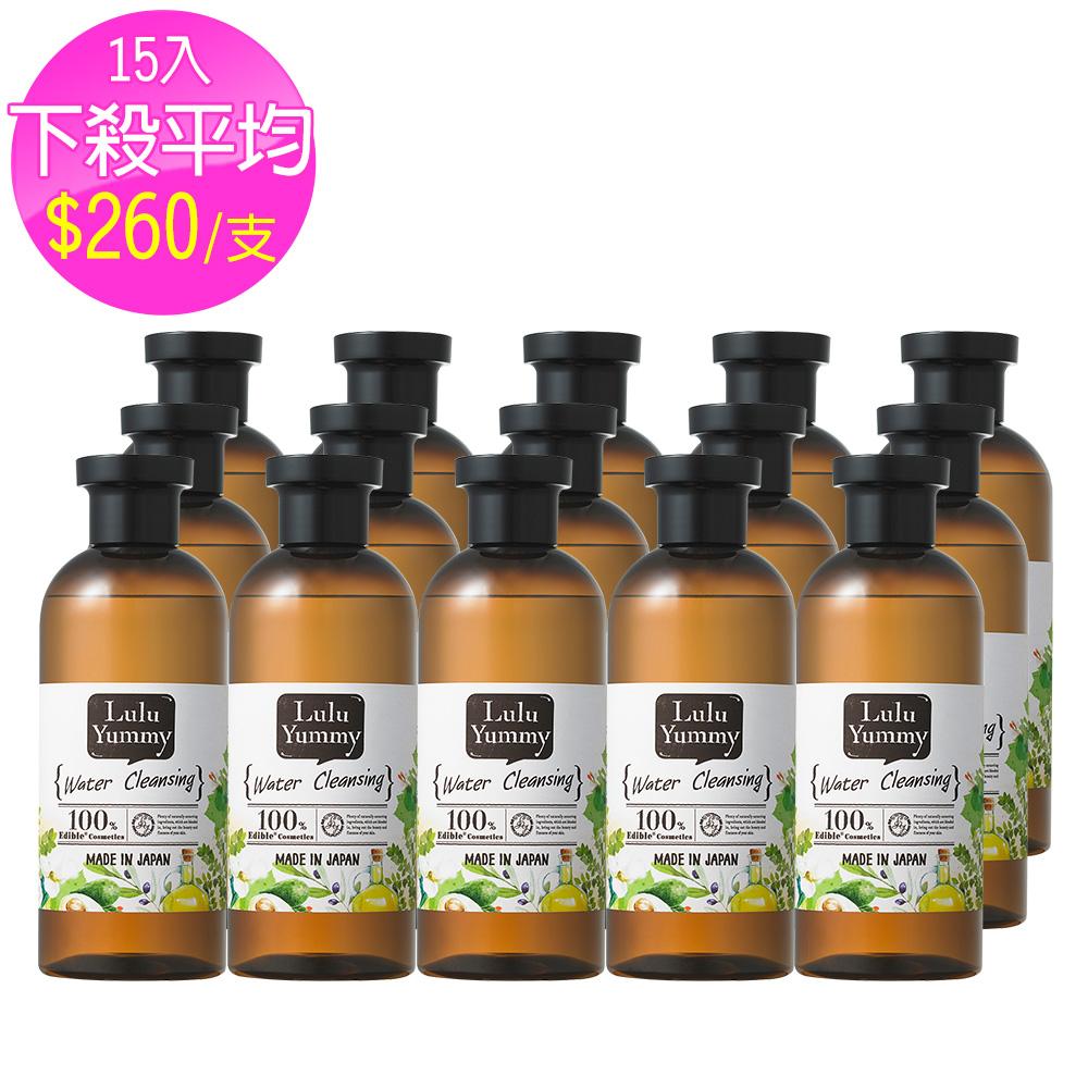 Lulu yummy 食の美肌全效潔膚水 300ml-十五入組