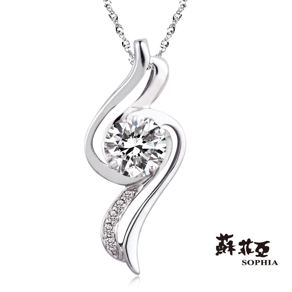蘇菲亞 SOPHIA - 戴納斯 0.30克拉 FVVS1鑽石項鍊