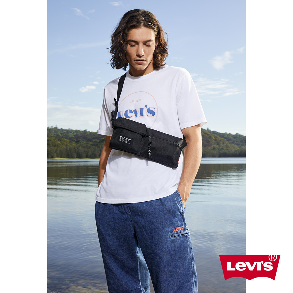 Levis 男款 短袖T恤 / 復古摩登Logo / 寬鬆休閒版型