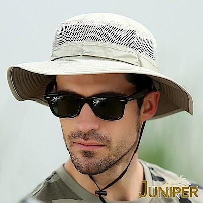JUNIPER 抗紫外線UV超大尺寸遮陽高頂漁夫帽