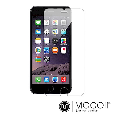 Mocoll - 2.5D 9H 透明鋼化膜 - iPhone 7+ / 8+ 專用