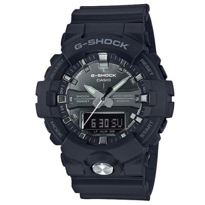 G-SHOCK 潮流霧面感設計風格運動雙顯錶-銀(GA-810MMA-1A)/48.6mm